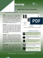SolGen 1800 Brochure