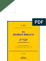 Curso de Hebreo Biblico