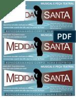 Panfleto Medida Santa