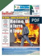 Jornal as Noticias Edição No. 112, de 12 de Agosto de 2011