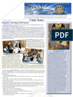 June 13, 2011 Newsletter