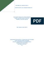Caracteristicas de Los Transistores BJT