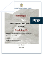 Relleno de datos de precipitación - Henrry Rojas Asuero