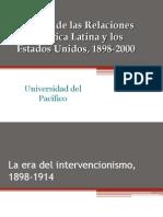 La era del intervencionismo, 1898-1914