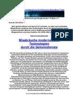 Strahlenterror - Deutsche Betroffene 7 - Strahlenfolter v1.0