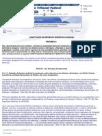 8 - Constituicao Federal 1988 - Comentada Pelo STF 2005