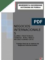 Trabjo Final de Negocios Internacionales