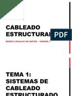 Cableado Estructurado