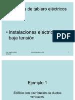 Ejemplo 1 Tableros Ie y Tipos de Ductos