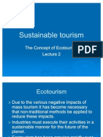 Sustainable Tourism Ecotour