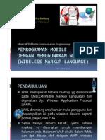 Modul 2 Pemrograman Wap Dgn Wml Compatibility Mode