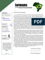 Harman Prayer Letter September, 2008