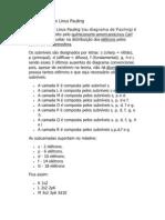 O Diagrama de Linus Pauling