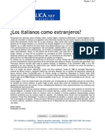 10-11-27 Los Italianos No Son Extranjeros - La Republica