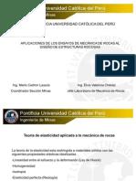 01.Aplicaciones de Los Ensayos de Mecanica de Rocas..Mario Cedron