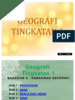 Geografi Tingkatan 1 (Bab 1-7)