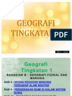 Geografi Tingkatan 1 (Bab 8-10)