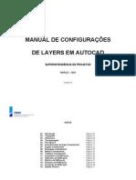 MANUAL DE CONFIGURAÇÃO DE LAYERS - CIVIL