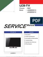 9619 Samsung LN40B550K1H LN52B550K1H Chassis N64D Manual de Servicio Sin Diagrama
