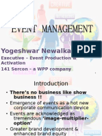 Intro to Event Management - Final Preso