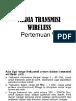 Pertemuan 6 - Media Transmisi-Wireless