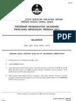 2011 PPMR Kedah Sejarah w Ans