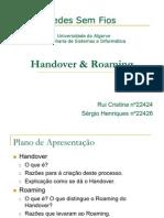 Handover & Roaming a22426 a22424