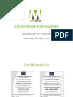 Equipos de Histologia
