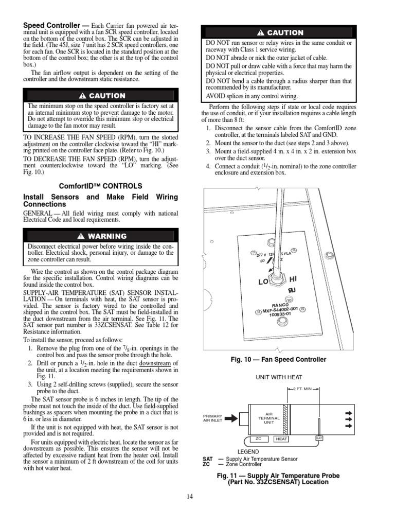 Fan Powered Vav Box Diagram Wiring