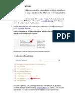 Cara Scan Client Registration Form & Ktp