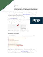 Cara Scan Client Registration Form Dan Ktp