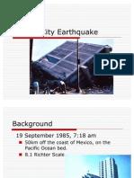 Mexico 1985 Earthquake