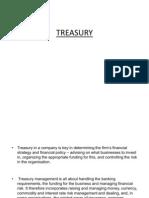 Treasury Presentation