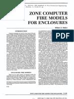 Zone Models for Enclosures