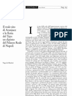 Il Reale Sito Di Aranjuez e La Flotta Del Tajo. Un Dipinto Del Palazzo Reale Di Napoli