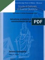 Istruzione Probatoria e Libero Convincimento Del Giudice - Breve Storia Di Quest'Istituto Nelle Due Sicilie