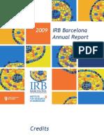 Annual IRB Barcelona