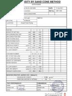 Comp Action Test, FDT for Site NJR0029.