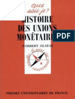 Histoire Des Unions Monetaires