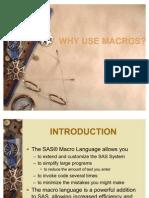 Why Use Macros