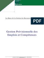 Gestion Prévisionnelle des Emplois et Compétences