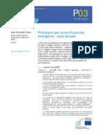 Procedure Per La Certificazione_al 2006