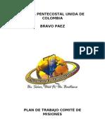 Plan de Trabajo Misiones 2011