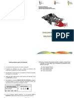 examen diagnostico 2011-2012