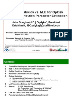J.D. Opdyke - Robust Stats - ABA Presentation - 08-08-11 - Updated Scrib