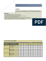 60099608 Use Case and Test Case Matrix