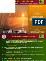 1 de 6 - Para Orar en Semana de Ceniza - Cuaresma 2008