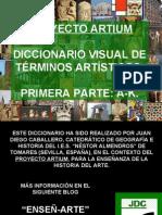 DICCIONARIO VISUAL DE ARTE. 1