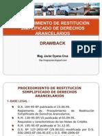 Seminario Del Drawback 2011