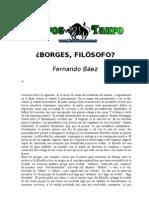 Baez, Fernando - Borges Filosofo